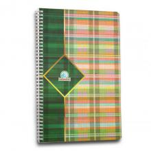 PP Double Spiral Folio ( F4) 80 sheets (2015)